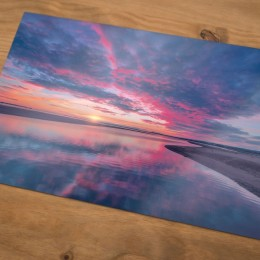 Holy Island Sunrise Print