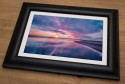 Holy Island Sunrise Framed Print