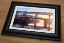Quayside Sunset Framed Print