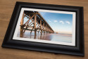 Steetley Pier Framed Print